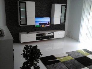 Wohnzimmer mit Glanz