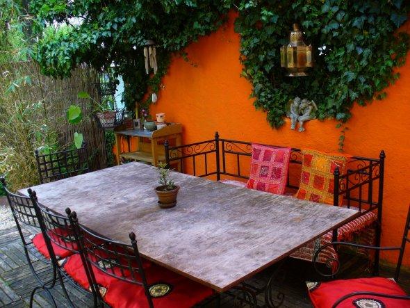 Terrasse / Balkon 'Terrasse Innenhof'