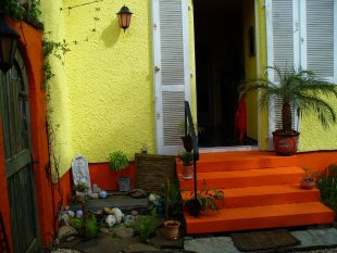 Exotisch 'Terrasse Innenhof'