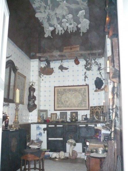 Wohnzimmer 'Grüner Salon'