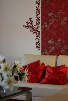Wohnzimmer 'wohnzimmer' - Wohnzimmer - Zimmerschau Wohnzimmer Rot Weiss Schwarz
