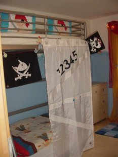 Kinderzimmer 39 juniorsuite 39 home sweet home zimmerschau - Piratenzimmer deko ...