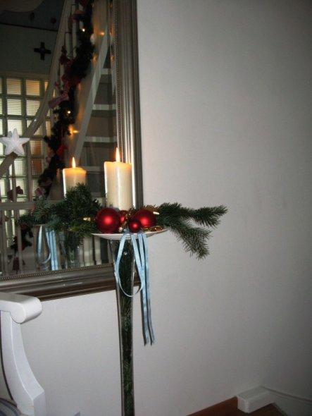 Weihnachtsdeko 'Diele'
