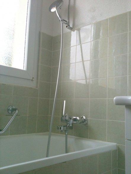Das Bad vor der Renovation!