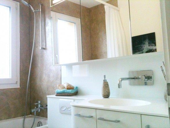 Das Bad nach der Renovation