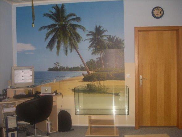 Arbeitszimmer / Büro 'arbeiten mit urlaubsfeeling'