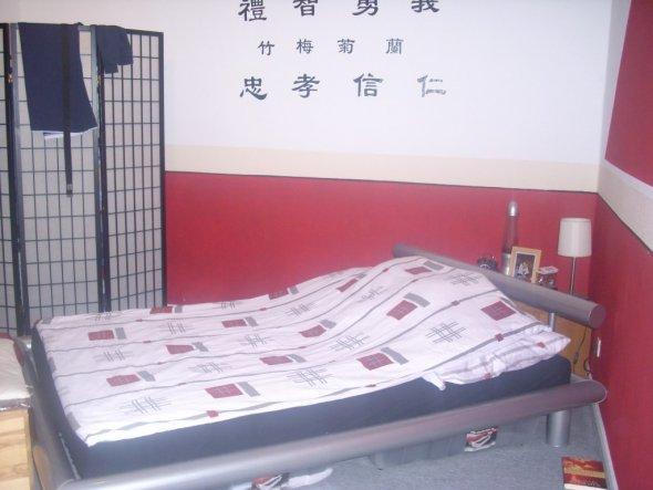 Schlafzimmer 'spirituelles schlafen'