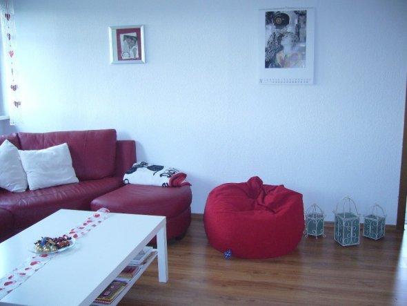 Wohnzimmer 39 wohnzimmer esszimmer 39 unsere erste wohnung zimmerschau - Sitzsack wohnzimmer ...