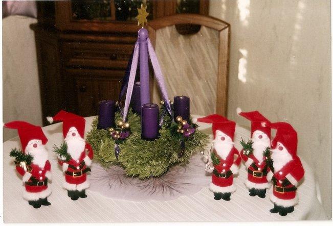 Weihnachtsdeko 'Vorweihnachtszeit'