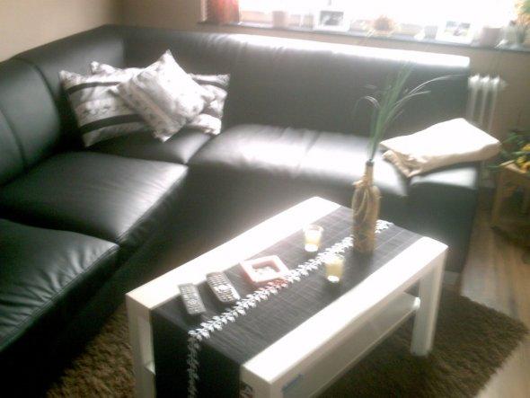 wohnzimmer 'schwarz weiß' - mein domizil - zimmerschau - Bilder Wohnzimmer Schwarz Weiss