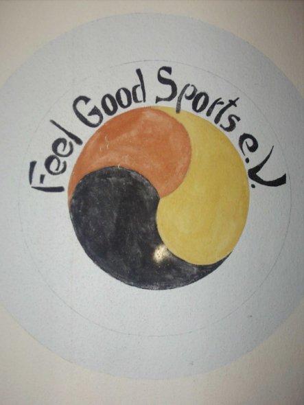der sportverein der kinder, selbst gemalt