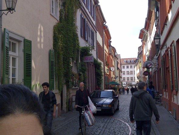 Hausfassade / Außenansichten 'Treffen Heidelberg Septmeber 2012'