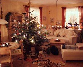 Weihnachtsdeko 39 adventsdeko 39 unser zuhause zimmerschau - Weihnachtsdeko wohnzimmer ...