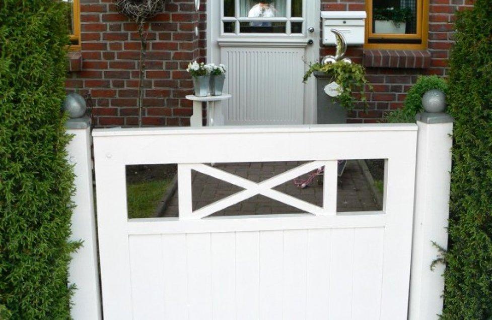 Die Haustür von Scullery