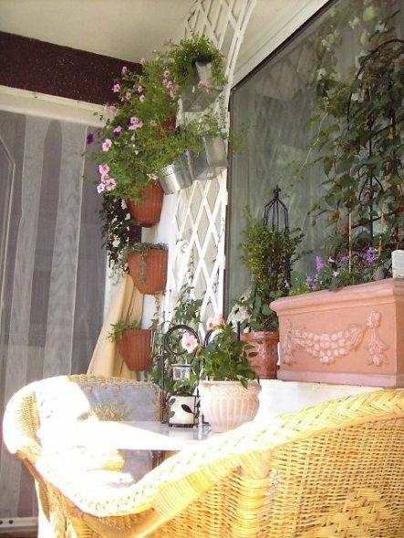 Terrasse / Balkon 'Meine Sommerresidenz(wenn Sonne)'