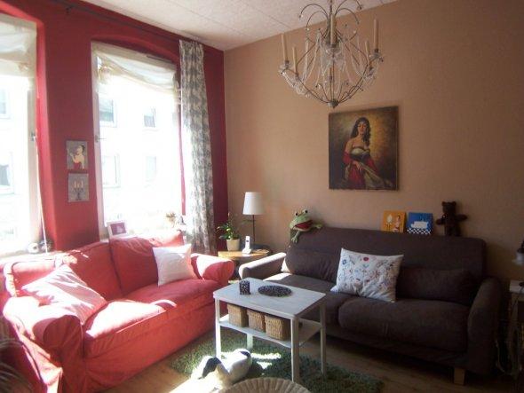 rot wohnzimmer:Wohnzimmer 'Wohnzimmer rot' – Claudis Chateau – Zimmerschau