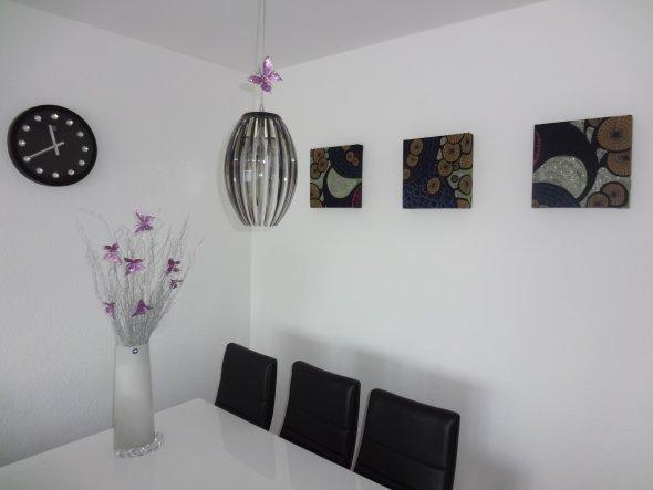 Unsere neuen Bilder im Wohnzimmer