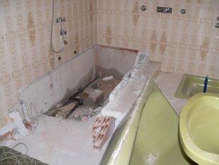 Das kleine Bad im EG.