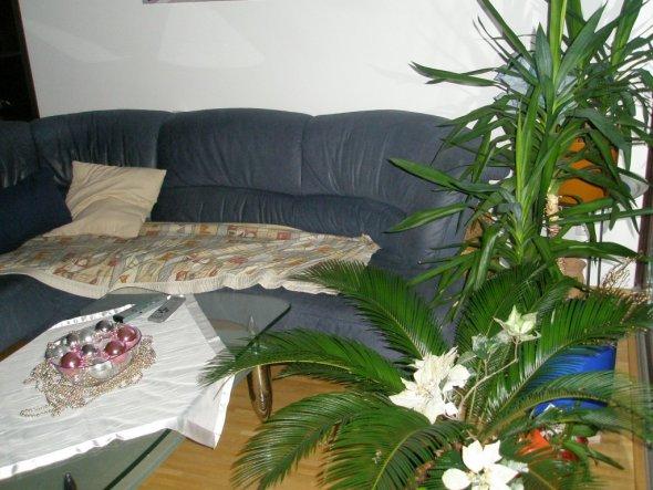 weihnachtsdeko 39 im wohnzimmer 39 mein domizil zimmerschau. Black Bedroom Furniture Sets. Home Design Ideas