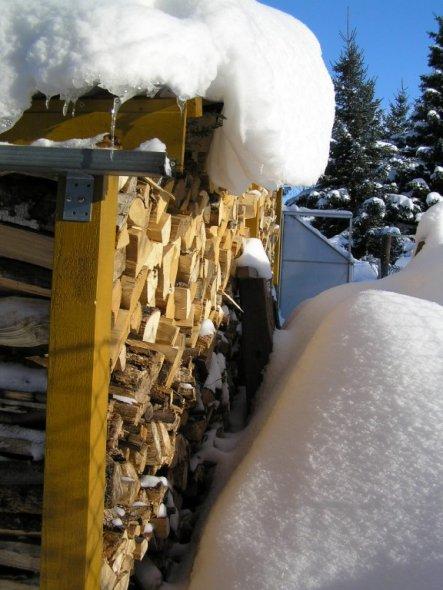 Hausfassade / Außenansichten 'Winterwunderland'