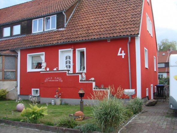 Hausfassade / Außenansichten 'da wohnen wir'