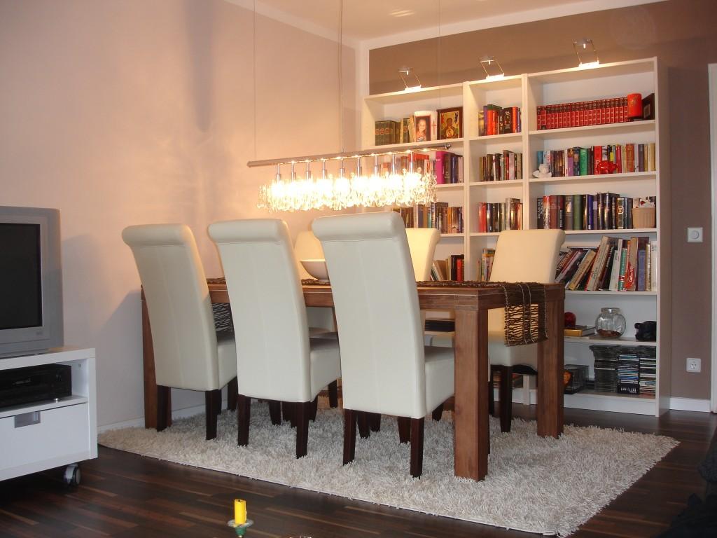 100 wohnzimmer ideen mit esstisch die besten 25. Black Bedroom Furniture Sets. Home Design Ideas