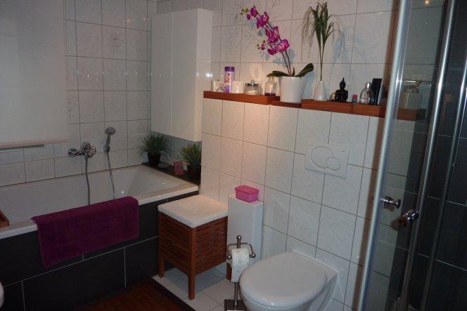 Badezimmer Deko bad badezimmer unser lang gesuchtes reihenhäuschen zimmerschau