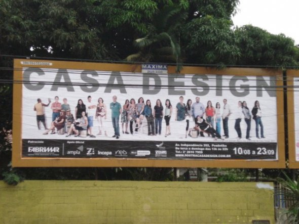 "Hausfassade / Außenansichten 'Ausstelung ""Casa Design""'"