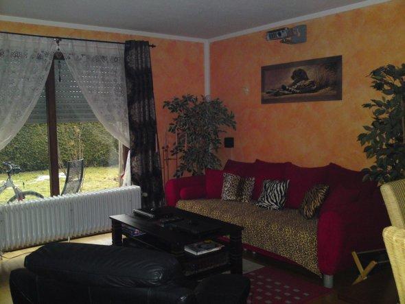 wohnzimmer 'afrikanisches wohnzimmer' - *home sweet home, Wohnzimmer