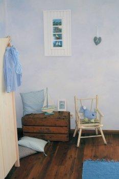 Shabby 'Blue Room'