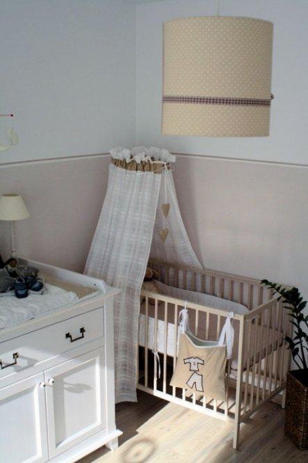 Kinderzimmer 39 beige room 39 kids home mosinchen zimmerschau - Vorhange babyzimmer ...