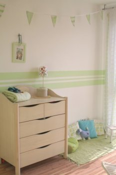 Shabby 'Green Room'