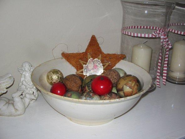 Weihnachtsdeko 'Weihnachten aufm Land'