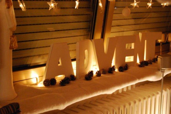 Weihnachtsdeko 'Heilig Abend...2008'