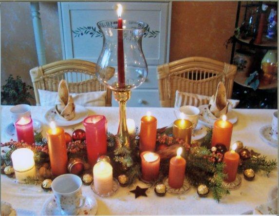 Tipp von balda7strich3 dekoration und malerei zimmerschau Dekoration weihnachtstischdeko