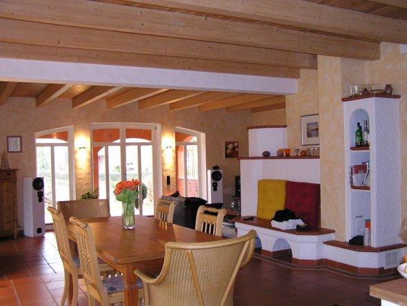 esszimmer 39 wohnk che 39 unsere kleine villa sol. Black Bedroom Furniture Sets. Home Design Ideas