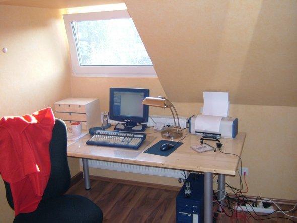 Arbeitszimmer / Büro 'Ausgebautes DG'