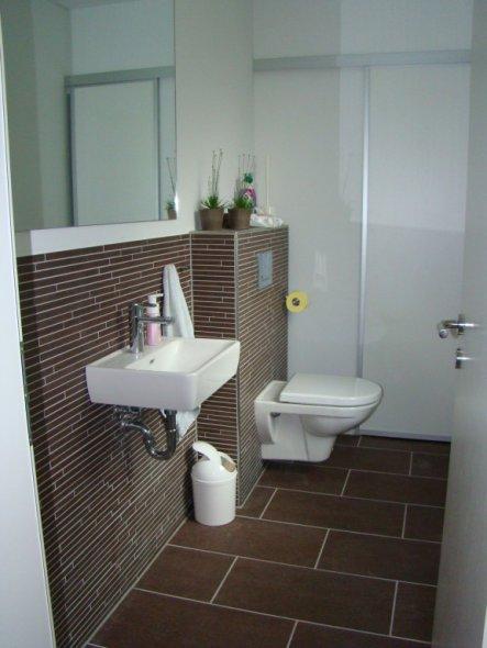 Gäste WC mit Naturstein
