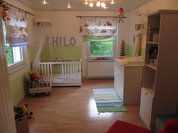 Kinderzimmer 'Thilos Nimmerland'