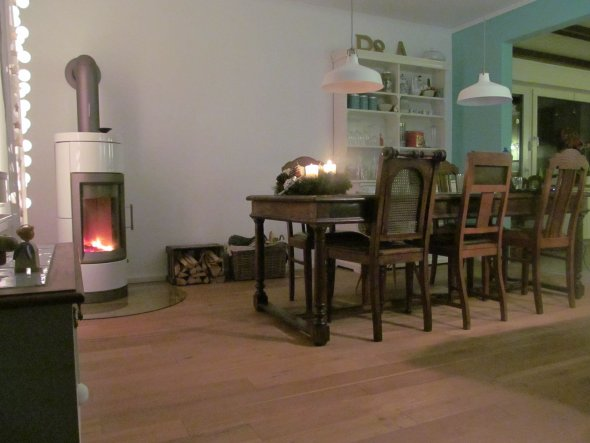 Wohnzimmer 'Wohn Ess Kuschel Lese Raum'