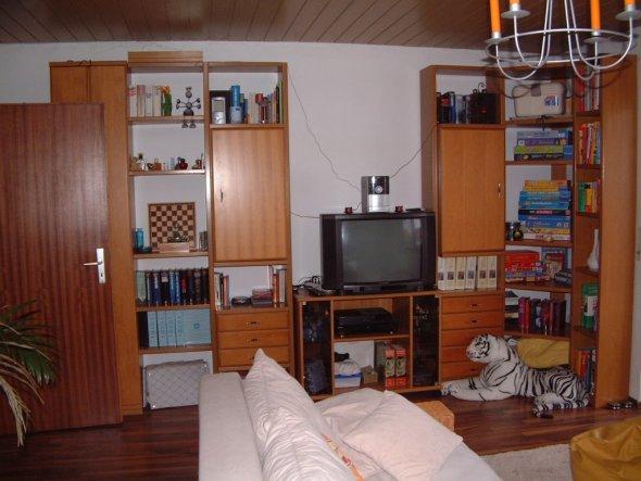 wohnzimmer 39 mein wohn schlaf arbeitsbereich 39 unser zuhause fantasiene zimmerschau. Black Bedroom Furniture Sets. Home Design Ideas