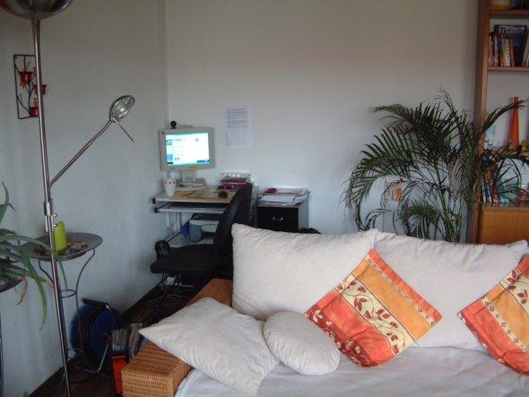 wohnzimmer 39 mein wohn schlaf arbeitsbereich 39 unser zuhause zimmerschau. Black Bedroom Furniture Sets. Home Design Ideas