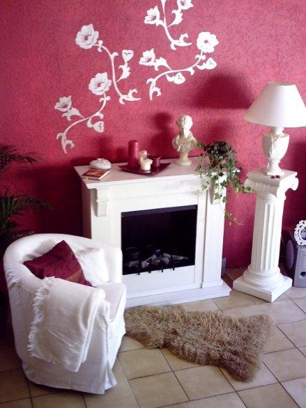 Wohnzimmer 'Kaminecke'