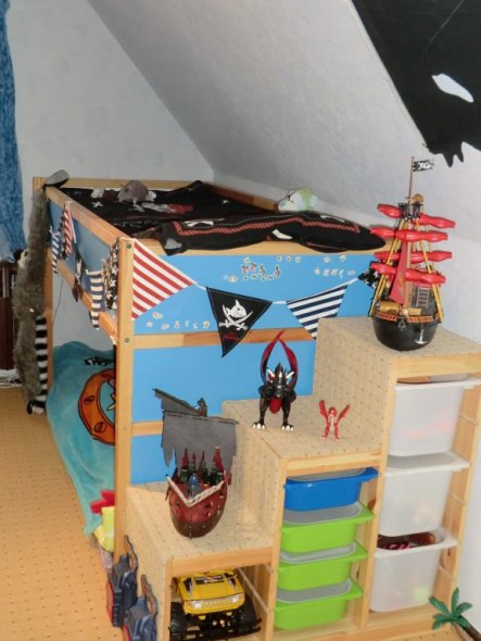 Kinderzimmer 'Piratenreich'