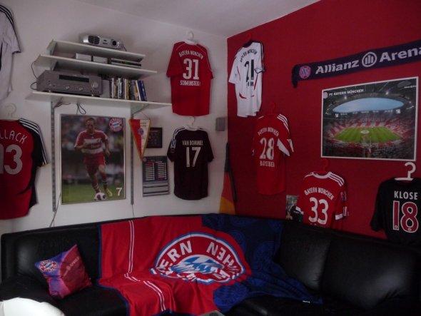 Hobbyraum 'Fußballzimmer'