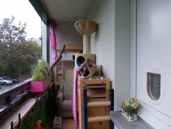 Wohnzimmer 'Ein kleines Stück vom Glück'