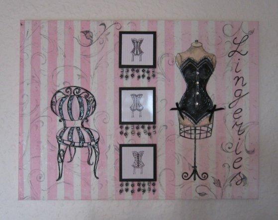 deko 39 deko bling bling 39 flowery zimmerschau. Black Bedroom Furniture Sets. Home Design Ideas