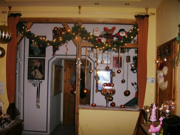 Weihnachtsdeko 'Wohnzimmer'