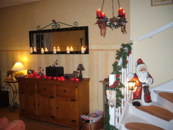 Weihnachtsdeko 39 wohnzimmer 39 mein domizil zimmerschau - Weihnachtsdeko wohnzimmer ...