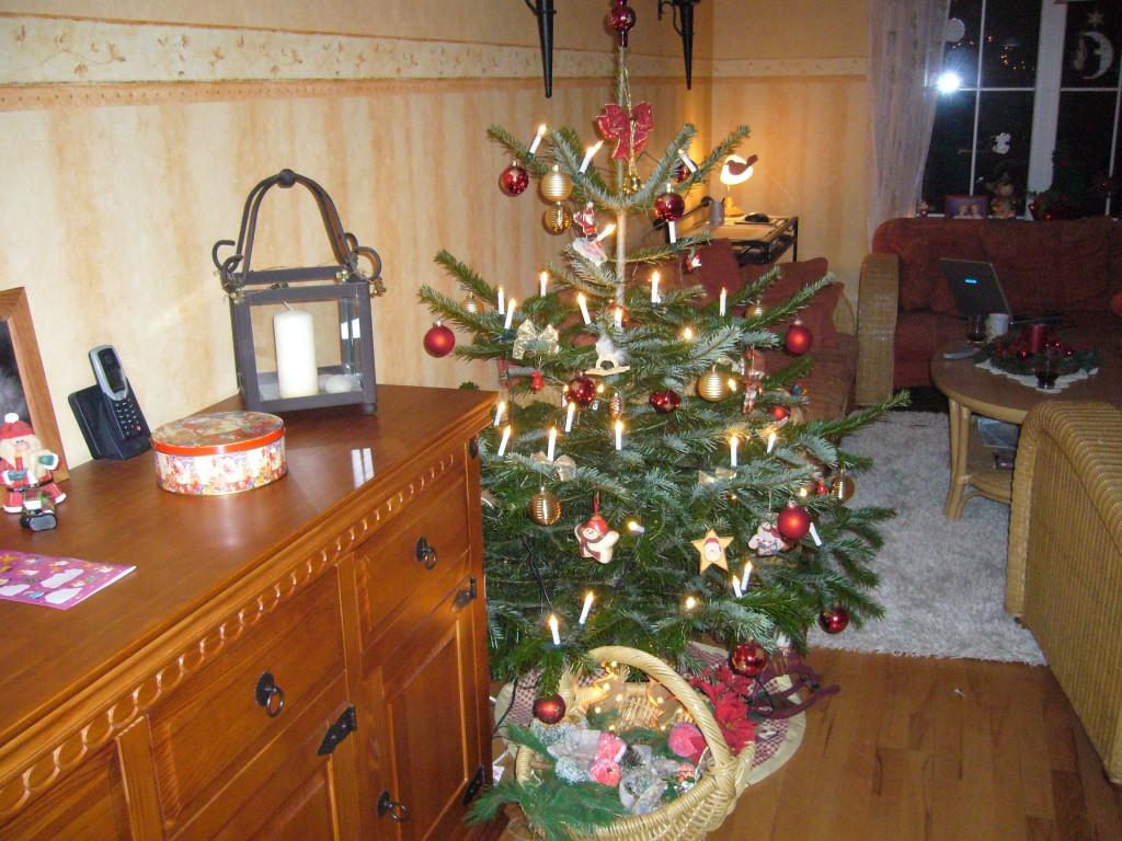 Weihnachtsdeko 39 wohnzimmer 39 mein domizil zimmerschau - Weihnachtsdeko wohnung ...